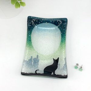 Cat Rectangular Dish