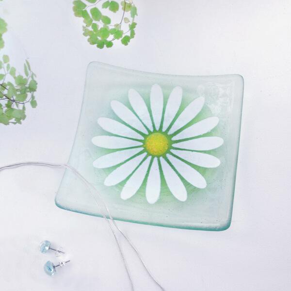 CHG Daisy dish 11cm Green