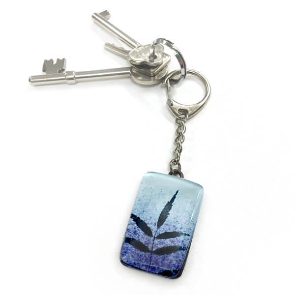 CHG Hedgerow keyring Blue
