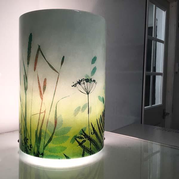 CHG Hedgerow glass table lamp