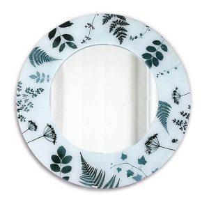 Hedgerow Leaf Design Mirror