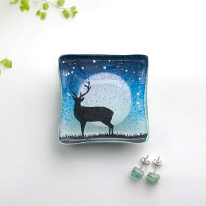 Stag Earring Dish