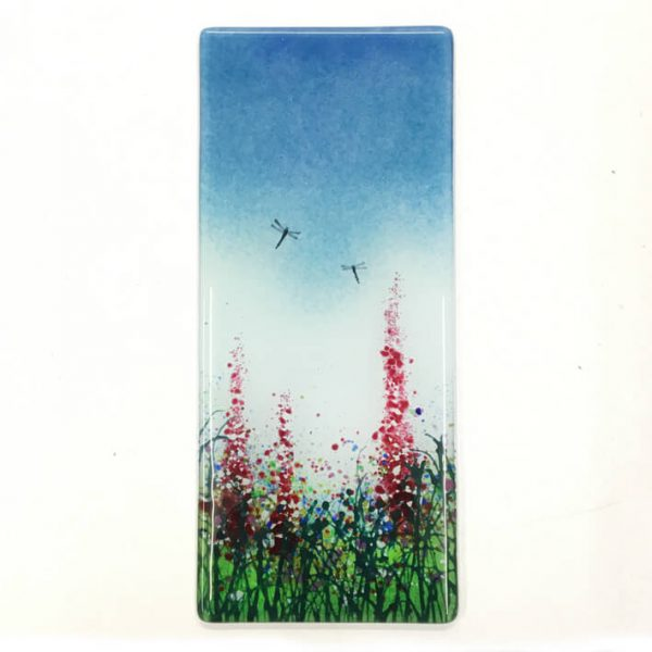 CHG Summer Meadow Wall panel 12x28cm blue
