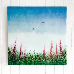 Summer Meadow Wall Panel Square