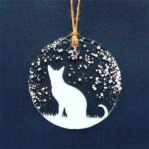 Winter Decoration Cat