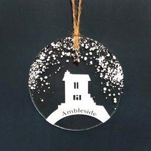 Winter Decoration Disc Ambleside