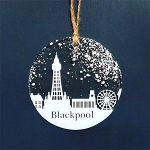Winter Decoration Disc Blackpool