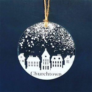 Winter Decoration Disc Churchtown