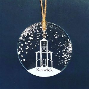 Winter Decoration Disc Keswick