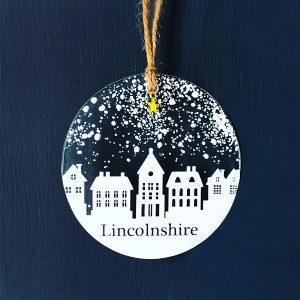 Winter Decoration Disc Lincolnshire