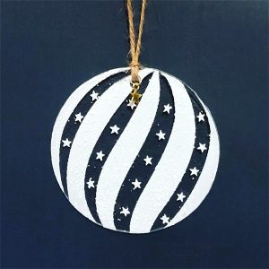 Winter Decoration Stars and Stripes