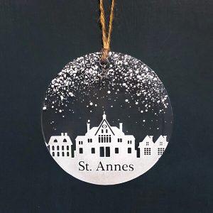 Winter Decoration Disc St Annes