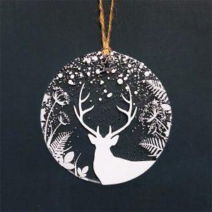Winter Decoration Winter Stag