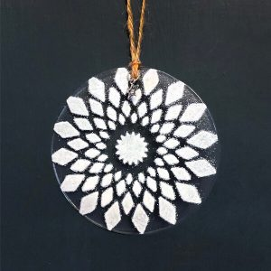 Winter Decoration Mandala Diamond