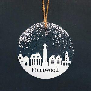 Winter Decoration Disc Fleetwood