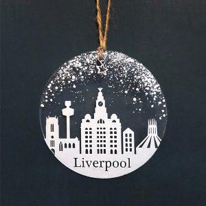Winter Decoration Disc Liverpool