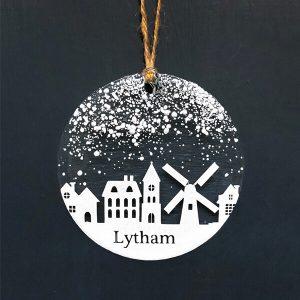 Winter Decoration Disc Lytham