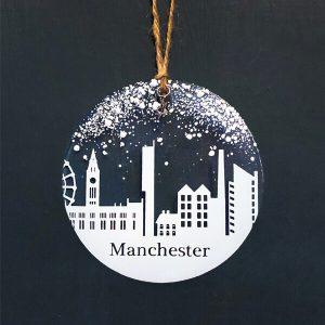 Winter Decoration Disc Manchester