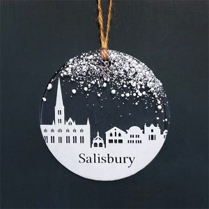 Winter Decoration Disc Salisbury