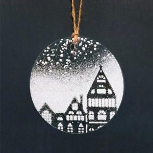 Winter Decoration Snow Houses