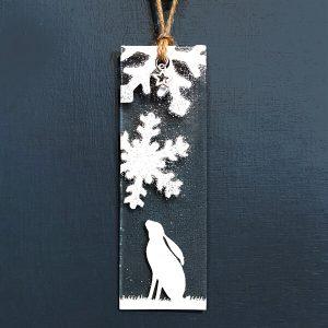 Winter Decoration Hare
